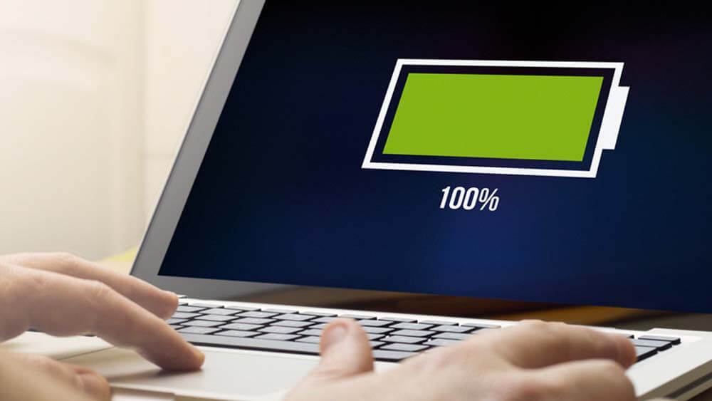 How to charge laptop battery