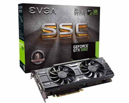 EVGA GeForce GTX 1060 SC
